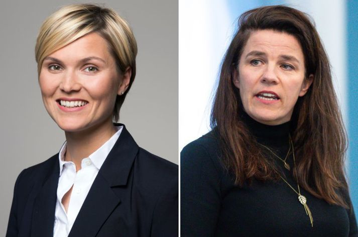Kristrún Frostadóttir og Helga Vala Helgadóttir.