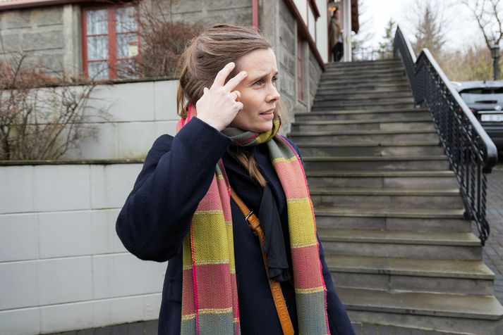 Katrín Jakobsdóttir forsætisráðherra er formaður VG.