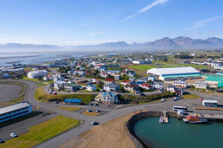 Mennirnir voru handteknir á Höfn í Hornafirði.