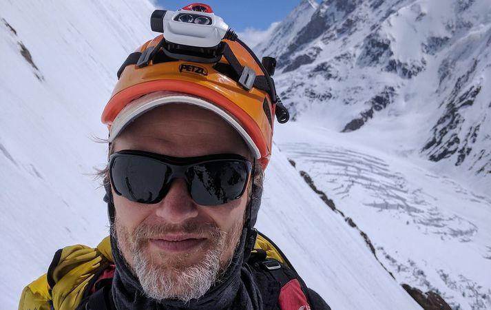 John Snorri ætlar að verða fyrsti Íslendingurinn til að klífa K2 að vetri til.