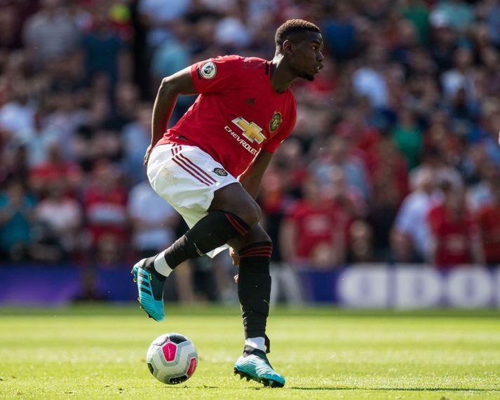 Paul Pogba spilar í Adidas frá toppi til táar