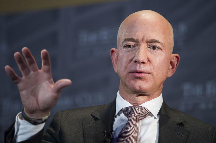 Jeff Bezos, stofnandi Amazon og ríkasti maður heims.