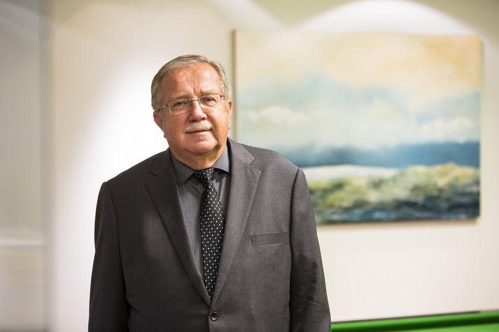 Jón Steinar Gunnlaugsson lögmaður og fyrrverandi dómari við Hæstarétt Íslands.