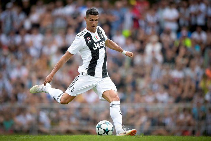 Cristiano Ronaldo í leiknum í gær