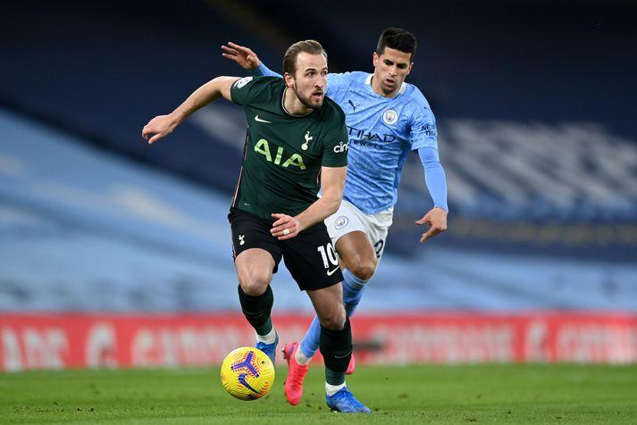 Harry Kane í leiknum gegn Manchester City á laugardaginn.