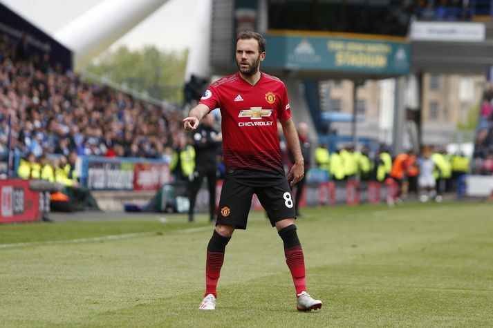 Mata hefur leikið með Manchester United síðan 2014.