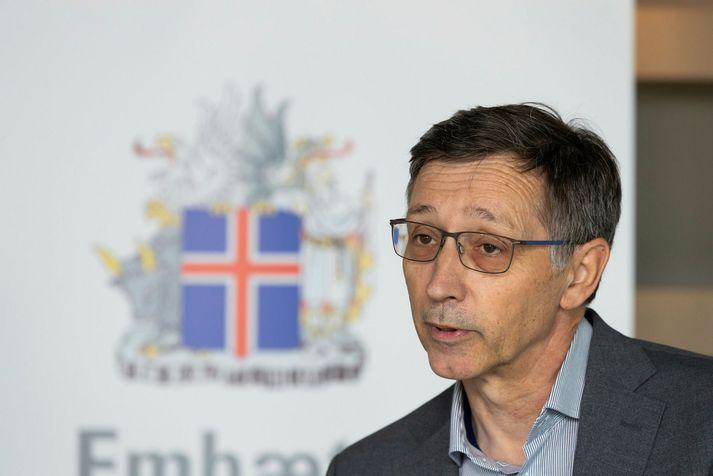 Óskar Reykdalsson, forstjóri Heilsugæslunnar á höfuðborgarsvæðinu.