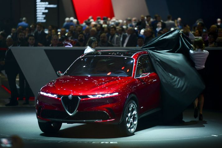 Alfa Romeo Tonale jepplingurinn var frumsýndur í vor.