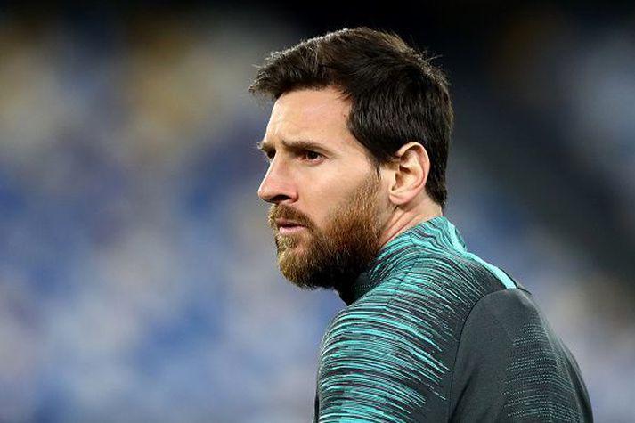Messi og félagar reyna að verja titilinn á Spáni.