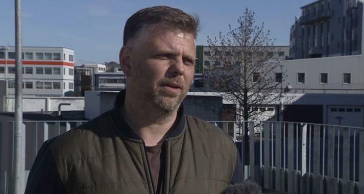 Ásmundur Arnarsson, þjálfari Fjölnis.