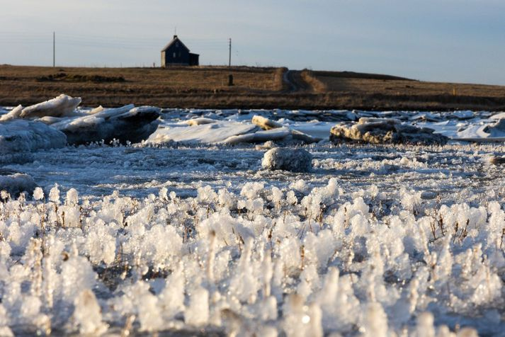Frost á landinu verður á bilinu null til tíu stig þar sem kaldast verður norðaustantil.