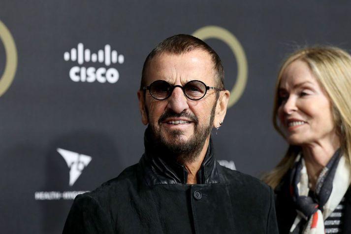 Ringo Starr íRoyal Albert Hall í lok síðasta árs.