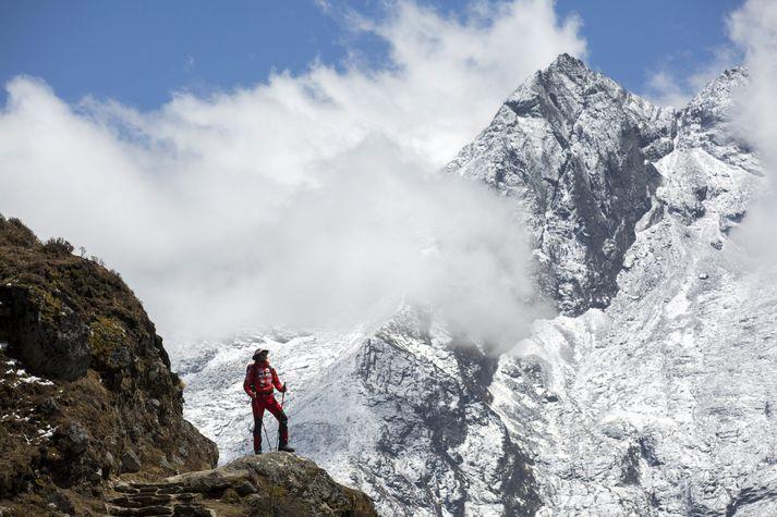 Nobukazu Kuriki var einn fjölmargra sem reyna við topp Everest á hverju ári.