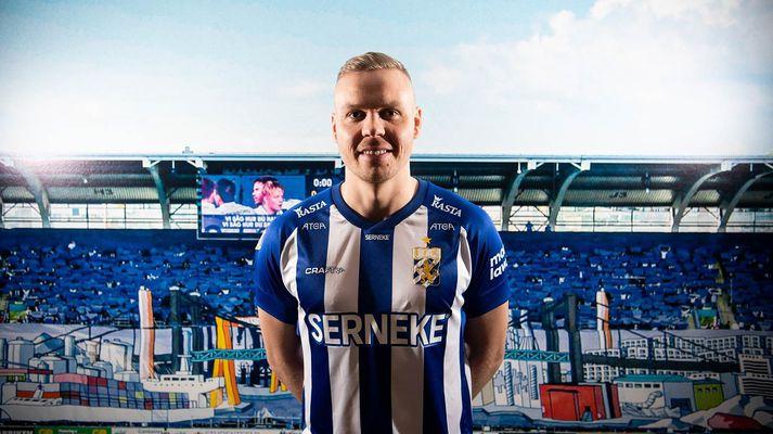 Kolbeinn Sigþórsson í búningi IFK Gautaborgar.
