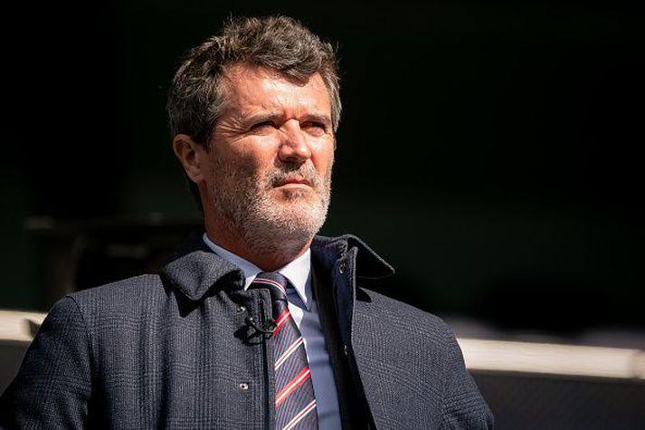 Roy Keane og Micah Richards fóru á kostum í nýjum þætti Sky.