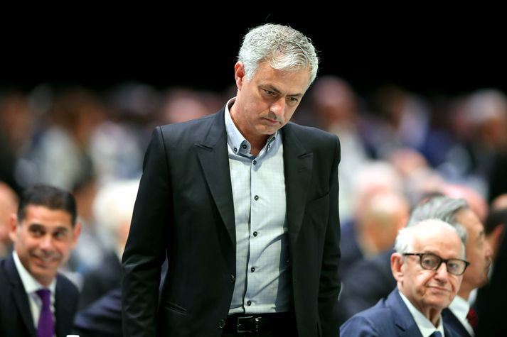 Mourinho talaði mjög vel um Pochettino.