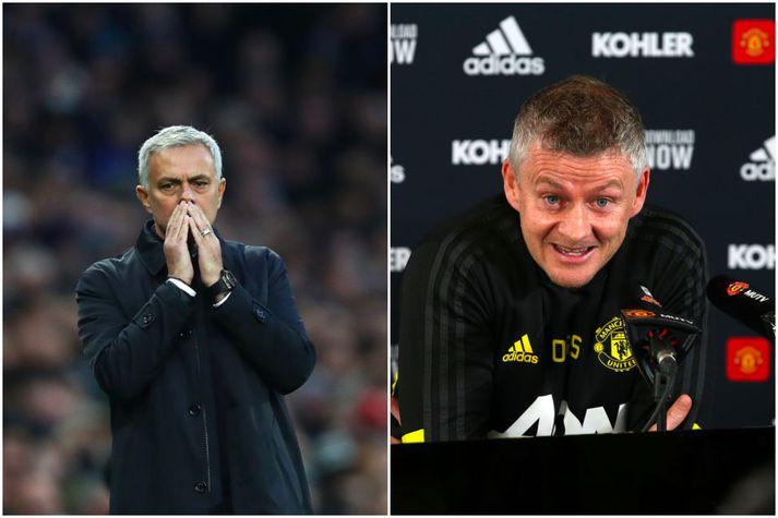 Mourinho og Solskjær mætast annað kvöld.