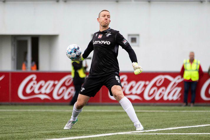 Hannes Þór Halldórsson veit ekki hvar hann spilar á næsta tímabili.