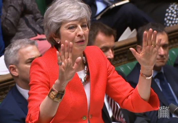 Theresa May, forsætisráðherra Bretlands.
