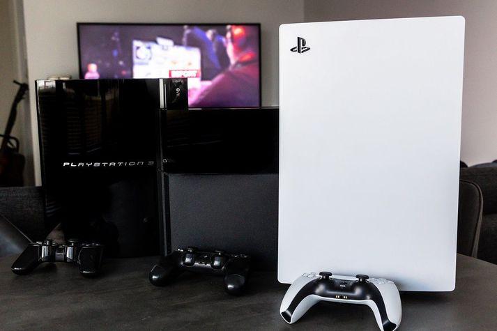 Sony vonast til þess að selja 14,8 milljónir PlayStation 5 leikjatölva á þessu ári.