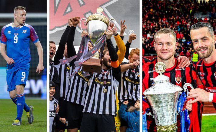Farið verður yfir fótboltaárið 2019 hjá körlunum á Stöð 2 Sport í kvöld.