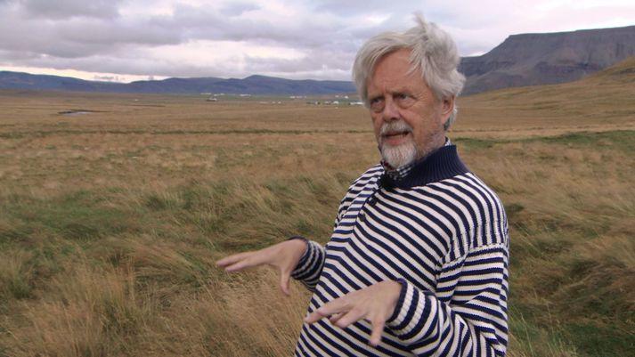 Svavar Gestsson á Staðarhóli í Saurbæ þar sem sagnaritarinn Sturla Þórðarson bjó.