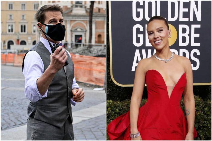 Tom Cruise og Scarlett Johansson eru meðal þeirra sem hafa gagnrýnt HFPA.