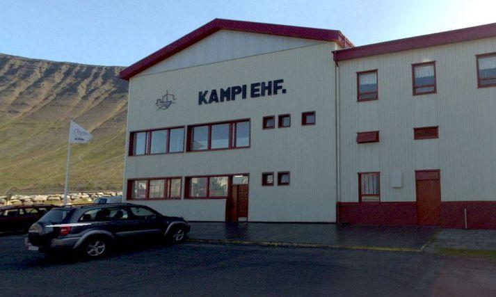 Höfuðstöðvar Kampa ehf á Ísafirði.