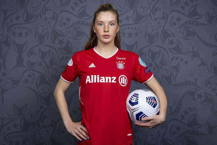 Karólína Lea Vilhjálmsdóttir vill vinna fleiri titla með Bayern München.