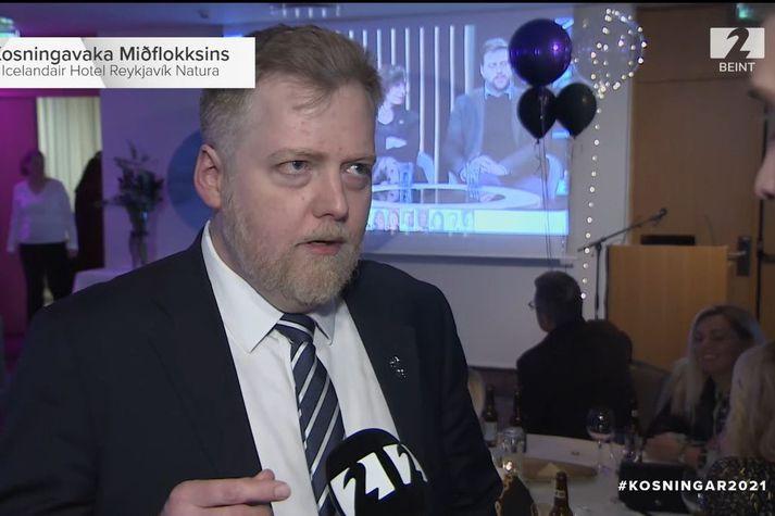 Sigmundur Davíð Gunnlaugsson er einn inni af frambjóðendum Miðflokksins eins og sakir standa.
