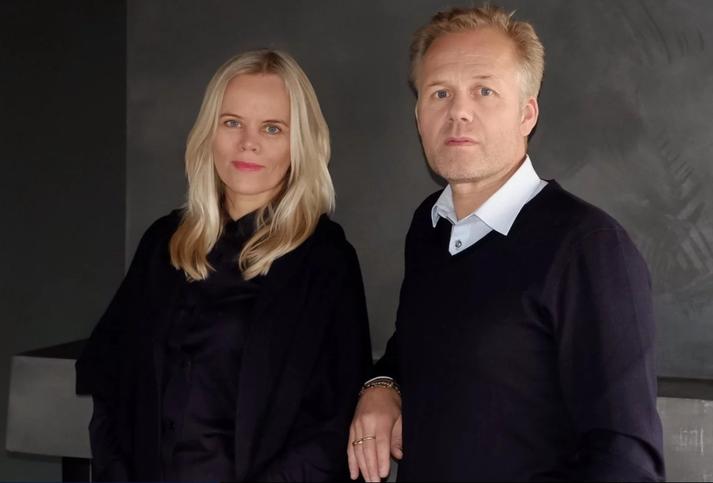Hjónin Guðbjörg Kristín Ingvarsdóttir, hönnuður Aurum, og Karl Jóhann Jóhannsson, framkvæmdastjóri fyrirtækisins.