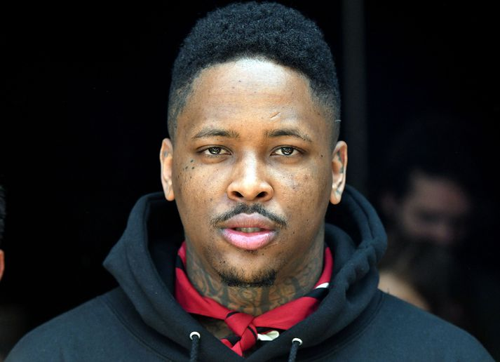 Rapparinn YG er frá Compton, sama bæ og hljómsveitin N.W.A og stórstjarnan Kendrick Lamar.