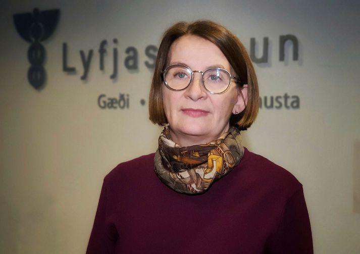 Rúna Hauksdóttir Hvannberg, forstjóri Lyfjastofnunar Egill Aðalsteinsson