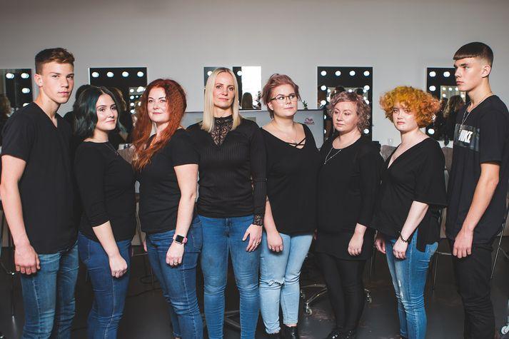 Nýir hárlitir frá Wella Professionals voru kynntir í Makeup-Studio Hörpu Kára.