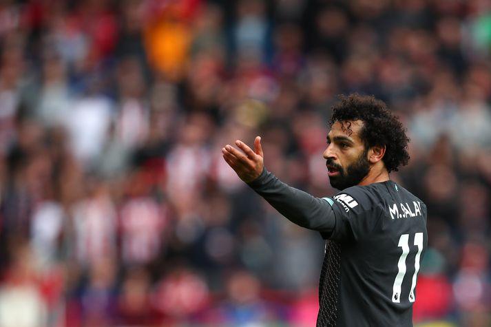 Mo Salah er að sjálfsögðu í sameiginlegu liðinu.
