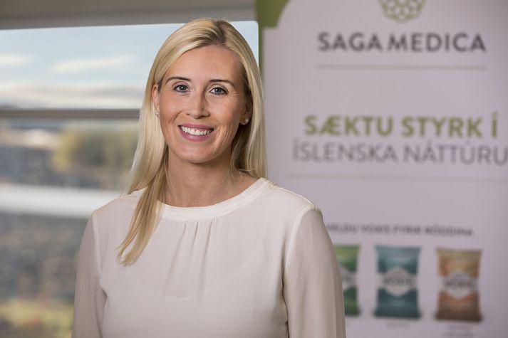 Ingibjörg segir að SagaMedica fagni viðbótum við Voxis fjölskylduna.