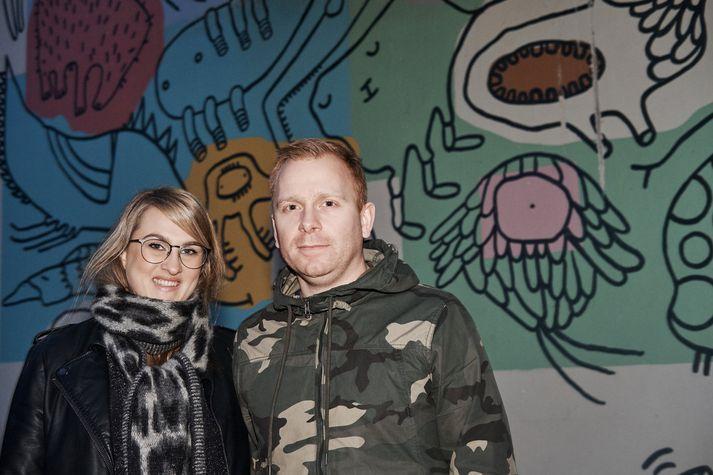 Hjónin Kristín Edda og Oddur Helgi stofnuðu Reykjavik Heritage ásamt vinahjónum sínum. MYND/ARON BRINK