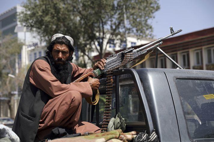 Talibanar hafa tekið völdin í Afganistan, mörgum íbúum landsins til mikillar skelfingar.