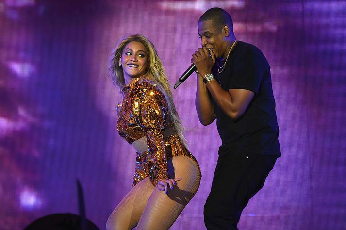 Beyoncé og Jay-Z á tónleikum árið 2016.