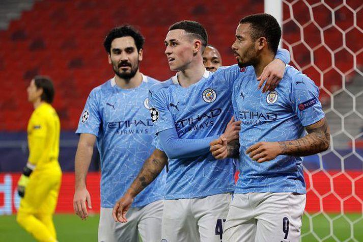 Manchester City er á rosalegu skriði.