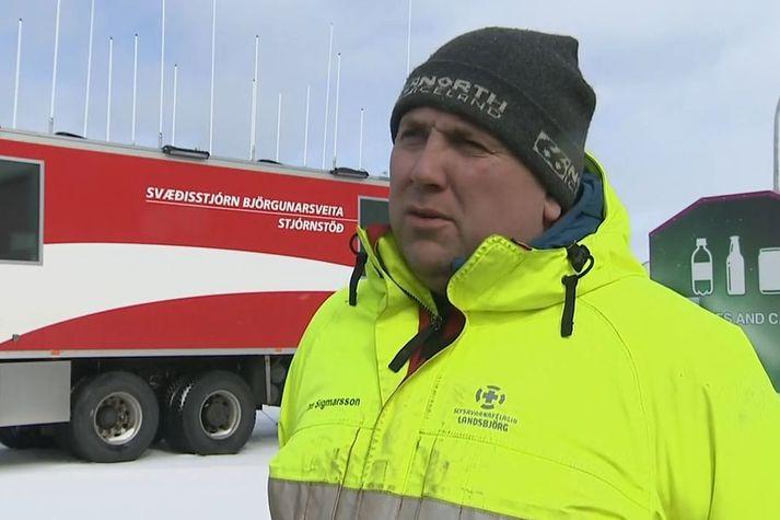 Otti Rafn Sigmarsson, björgunarsveitarmaður í Grindavík.