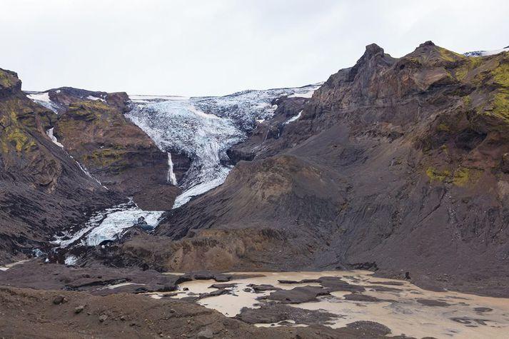 Steinholtsjökull og Steinholtsá.