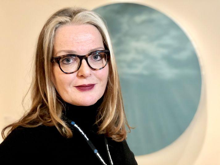María Heimisdóttir, forstjóri Sjúkratrygginga Íslands.