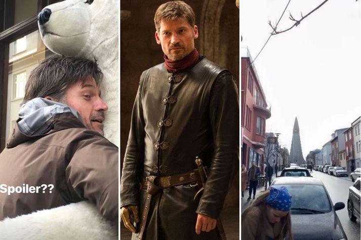 Jaime Lannister á landinu.