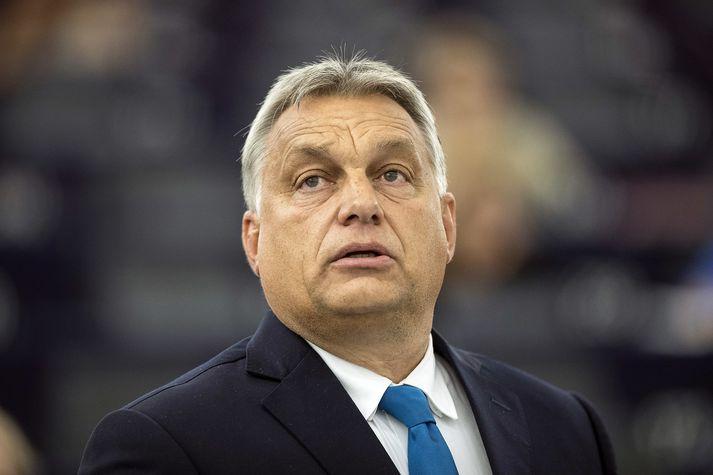 Viktor Orban, forsætisráðherra Ungverjalands,