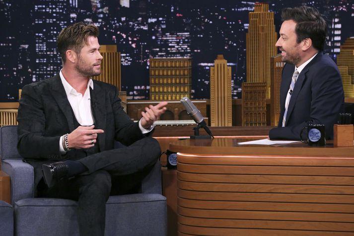 Chris Hemsworth fór á kostum hjá Fallon.