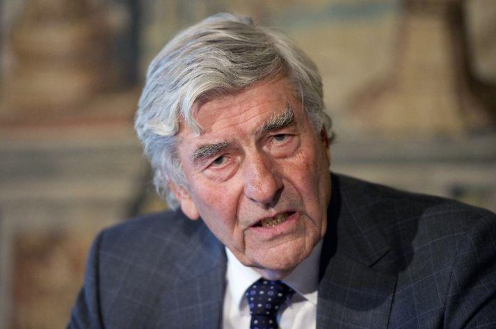 Ruud Lubbers var einn af aðalarkitektum Maastricht-sáttmála ESB.
