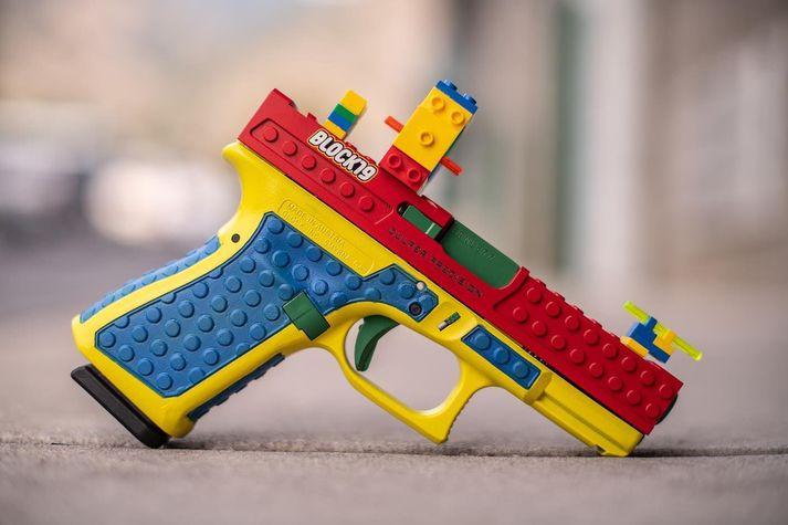 Block19 er breytt Glock19.