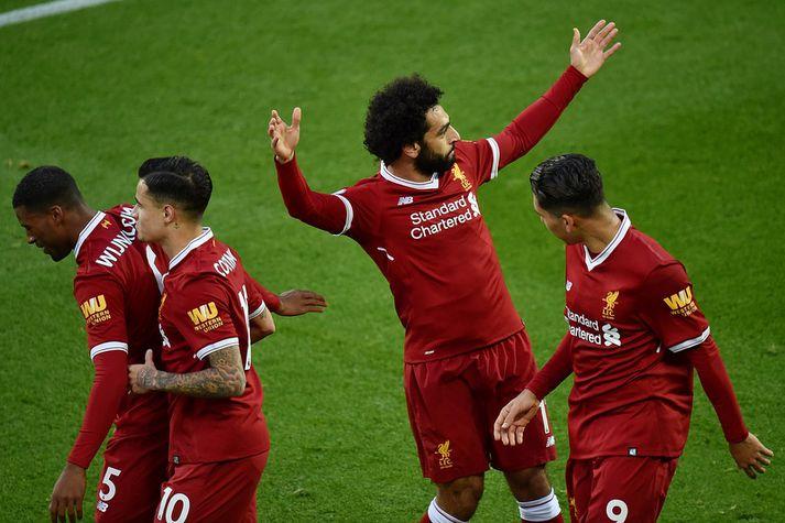 Mohamed Salah átti magnað tímabil með Liverpool en dugar það?