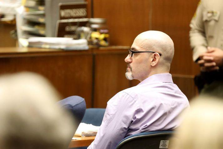 Michael Gargiulo var sakfelldur eftir að Ashton Kutcher bar vitni fyrir dómi.